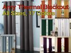 Kyпить Solid Amy Thermal Blackout Window Curtain Panel With Reflecting Shiny Back New на еВаy.соm