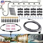 Garden Patio Water Misting Cooling System Sprinkler Nozzle Irrigation Set OY