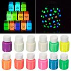 Glow in the Dark Acrylic Luminous Paint Bright Pigment Party