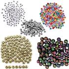 400pcs Alphabet Letters Round Beads 6.5mm Acrylic jewellery Making Art & Craft