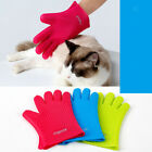 Water-resistant Pet Dog Cat Grooming Glove Dirt Hair Fur Removal Remover Brush