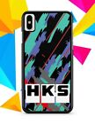 New HKS Retro Pattern For iPhone X Case Cover