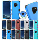 for Samsung Galaxy S9 G960 Natural Dual Layer TUFF Case Cover + PryTool