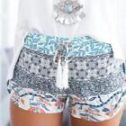 Внешний вид - Women Ladies COOL Pants Summer Casual Shorts High Waist Short Beach Trousers YHF