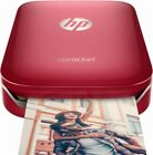 NEW HP Sprocket Portable Photo Printer Pocket-Sized Simple Mobile 2x3 Printing