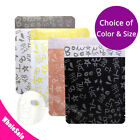 Many Sizes Colorful Aluminium Mylar Open Top Pouch Bag for Facial Mask M29