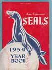 PCL 1954 SAN FRANCISCO SEALS YEARBOOK