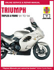 1996 Triumph Daytona 4 1200 Haynes Online Repair Manual - Select Access $12.99 USD on eBay