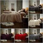 Teddy Fleece Luxury Duvet Covers Cosy Warm Soft Bedding Sets / Fitted Sheets GC image