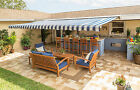 14 FT Motorized XL Retractable Awning by SunSetter Awnings, Shade Deck & Patio