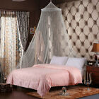 Lace Canopy Bed Curtain Dome Fly Midges Insect Cot Stopping Mosquito Net Set SA image