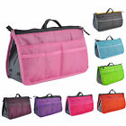 Women Insert Handbag Organiser Purse Large liner Organizer Bag Tidy Travel SA