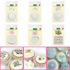 Katy Sue Craft + Cupcake Icing Silicone Moulds - Toppers - FLORAL, LACE, VINTAGE image