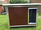 Insulated Plastic Dog Kennel  *** Heavy Duty *** Long Lasting in 4 Sizes