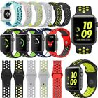 Soft Silicone Sport Watch Band Strap For Apple Watch Series 2/1 Size:38mm & 42mm