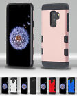 for Samsung Galaxy S9 G960 TUFF Trooper Slim Hybrid Impact Case Cover+PryTool