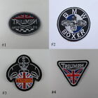 TRIUMPH BMW EMBROIDERED SEW IRON ON PATCH BIKER MOTOCYCLE T-SHIRT JACKET JEAN $3.99 USD on eBay