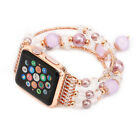 Compatible with Apple Watch Women's 38mm 42mm Jewelry Band Beads Strap Bracelet Wristwatch Bands - 98624