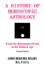 History of Horoscopic Astrology by James H Holden: New