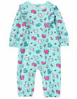 NWT Gymboree Purrfect Prep Cat Kitten Kitty Flower Romper 1PC Baby Girl
