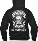 Boatswains Mate Not Inherited - Boatswain's It Cannot Gildan Hoodie Sweatshirt