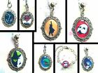 MUSICALS NECKLACE PENDANT KEYRING CHARM BRACELET THEATRE BROADWAY WEST END