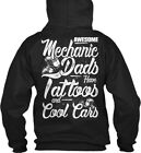 Mechanic Dads - Awesome Have I At Toos And Cool Cars Gildan Hoodie Sweatshirt