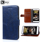 For Huawei Honor 6/7/8/9 Shockproof Magnetic PU Leather Wallet Flip Case Cover