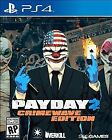 Payday 2 Crimewave - PS4 PlayStation 4 - NEW & SEALED!