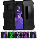 for Samsung Galaxy S9 G960 Hybrid Armor Shockproof Case Cover Holster+PryTool