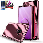 For Samsung Galaxy S9/S9 Plus Note8 Shockproof Plated Hard Phone Case Cover Skin