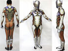 OW Overwatch Genji Bodysuit 3D Digital Print Halloween Cosplay Costume Customize