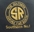 The Southern Railroad Serves The South Hat Strap Back Adjustable Black Ball Cap