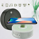 Qi Wireless Charger NFC Bluetooth Speaker Alarm Clock For iPhone X/ 8/ 8 Plus