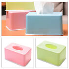 Внешний вид - Facial Tissue Box Cover Rectangular Holder Napkin Case for Car Desk Office