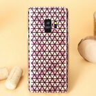 Grid Soft TPU Cover Case For Galaxy S9 S9+ S8 Plus S7 Note 8 Ultra Thin -EB10096