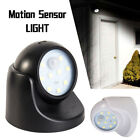 360° Battery Operated Indoor Outdoor Night Motion Sensor Security Led Light UK