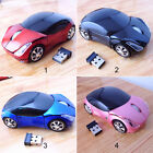 Wirless Mouse Car Shaped Gaming Mouse Optical Computer Mouse USB Mouse 4 Colors