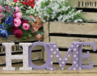Home Decorative Sign Free Standing Wooden Letters Home Decor Ornaments Plaque