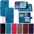 For Samsung Galaxy J7 Neo PU Leather Magnetic Flip Stand Wallet Card Case Cover