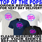 retro t shirt top of the pops music t shirt (all sizes to 5xl)
