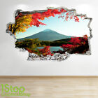 MOUNTAIN FORREST WALL STICKER 3D LOOK - BEDROOM LOUNGE  WALL DECAL Z693