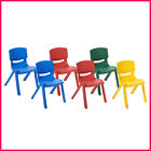 """ECR4Kids 10"""" Resin Chair, Select Color - 6 pack , Free Ship"""