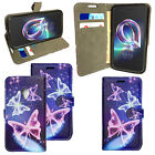 For Alcatel U5 3G 4047X New Genuine Luxury PU Leather Wallet Phone Cover Case