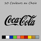 Sticker Logo Coca Cola Decal Soda Boissons D-456 Couleurs au choix $10.46  on eBay