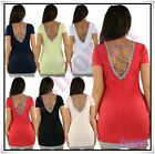 Women's Dress Summer Holiday Casual Ladies Tunic Dress One Size 8,10,12,14 UK