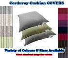 COVERS ONLY : Corduroy Cushion COVERS - Beanbag / Pillow / Lounger - MADE IN UK