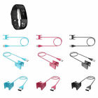 1m USB Charging Cable Charger With Clip For Smart Bracelet FitBit Charge 2