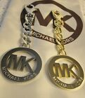 Mk Michael Kors Gold Or Silver Tone Purse Charm New & Perfect