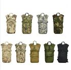Camo HYDRATION BACKPACK Bag Pack Hiking Camping Daypack